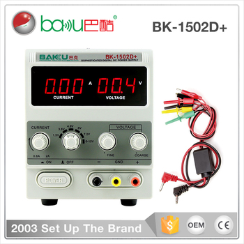 BAKU BK-1502D+ Programmable Digital DC Power Supply With High Quality For Mobile Test