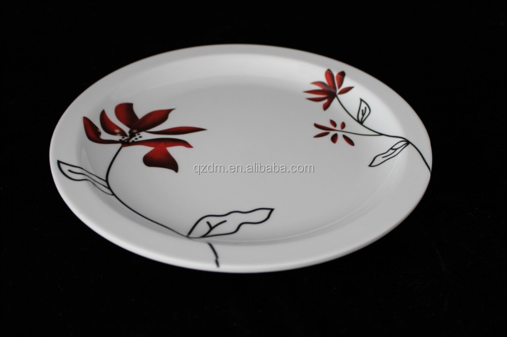 Wholesale Unbreakable Melamine food dishes Dinner plate