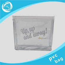 small clear make up plastic packaging bag