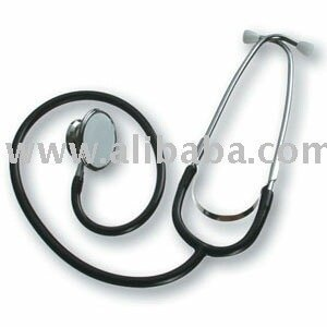 Stethoscope, with double breast-piece