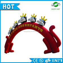 2016 newly design start/ finish line outdoor event inflatable arch,entrance arch for racing