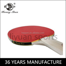 wholesale wooden long handle ping pong racket 1 star table tennis rackets