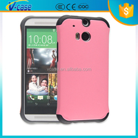 Good Touch Sense!! Smart Ultra Slim TPU PC Cover case for htc one m7/m8