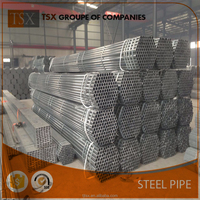 TSX-GI153 Q235 Galvanised Steel Pipes For Scaffolding