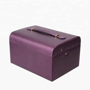 High Quality Wholesale Luxury Box Travel competitive price jewelry case