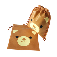 cheap cartoon small drawstring bags