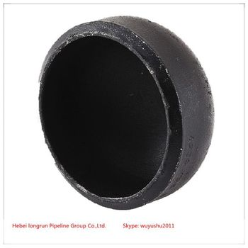 steel pipe fittings caps dimensions