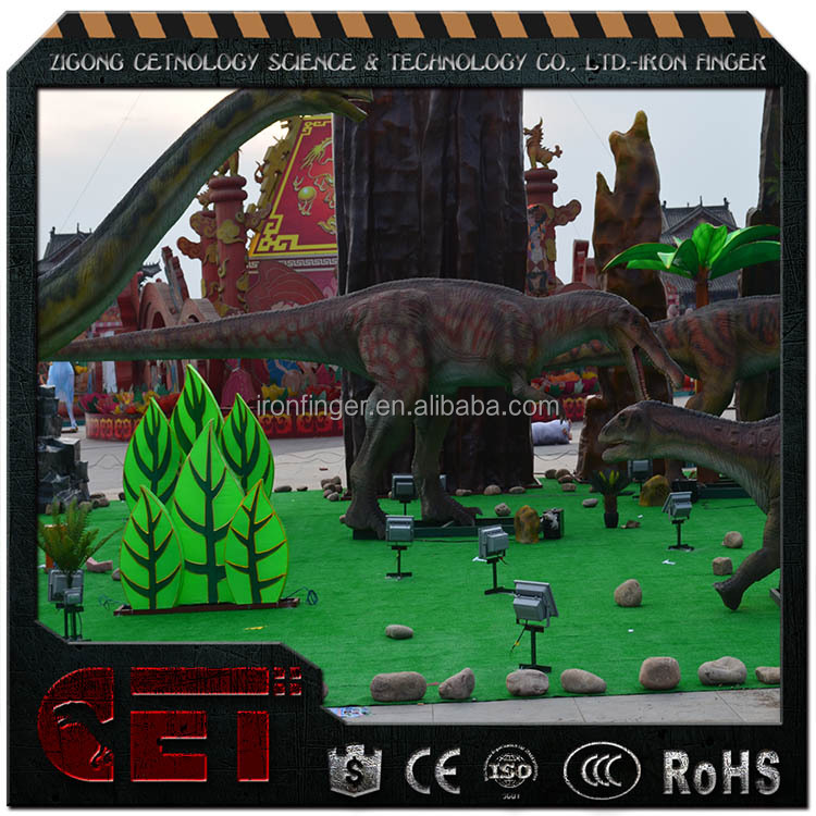 Cetnology- Life-like Electric Dinosaur King Model for Dino Theme Park