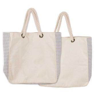 Hot selling cotton material plain shopping tote bag Wholesale
