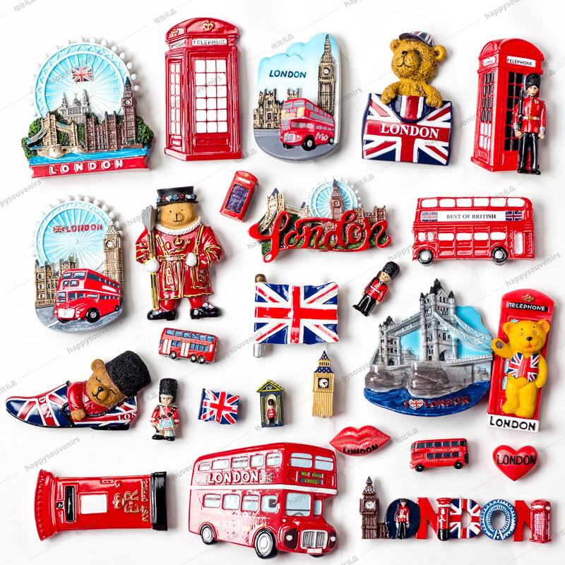 Kühlschrankmagnet Souvenir für verschiedene Länder Magnetschild