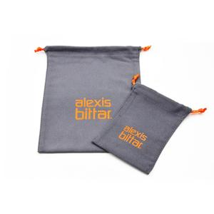 Professional produced custom size microfiber cloth packaging bag with drawstring