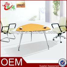 hot sale chic style triangle chatting desk small meeting table M683