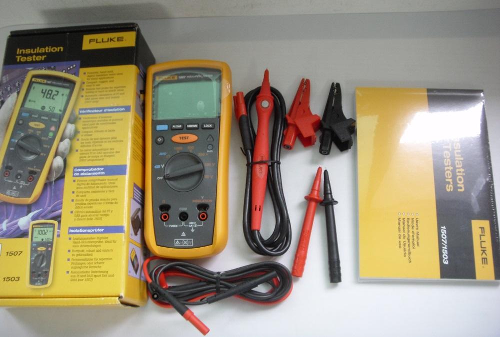 Fluke Megger Meter : Fluke digital megger insulation resistance tester buy
