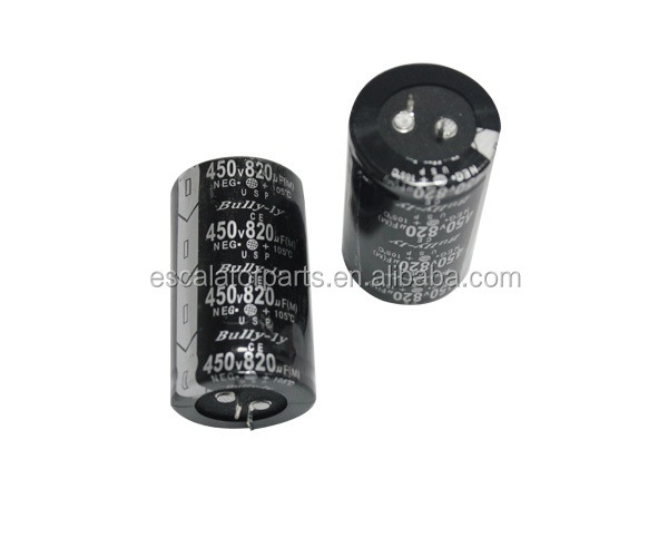 450V 820UF Elevator Capacitor For Elevator Parts Lift Capacitance