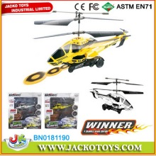 3.5 CH Alloy RC Shooting Airsoft Frisbee Helicopter With GYRO