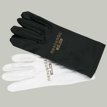 Promotional Microfiber Custom Logo Printed Jewellery Cleaning Gloves
