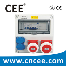 CEE-21 Schuko Sockets portable Industrial Distribution Board