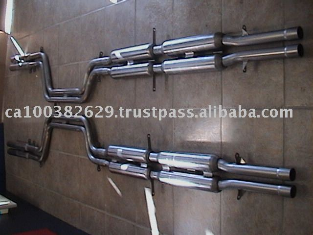 Stainless Steel Exhaust System For Ferrari 330 Gtc / Gts