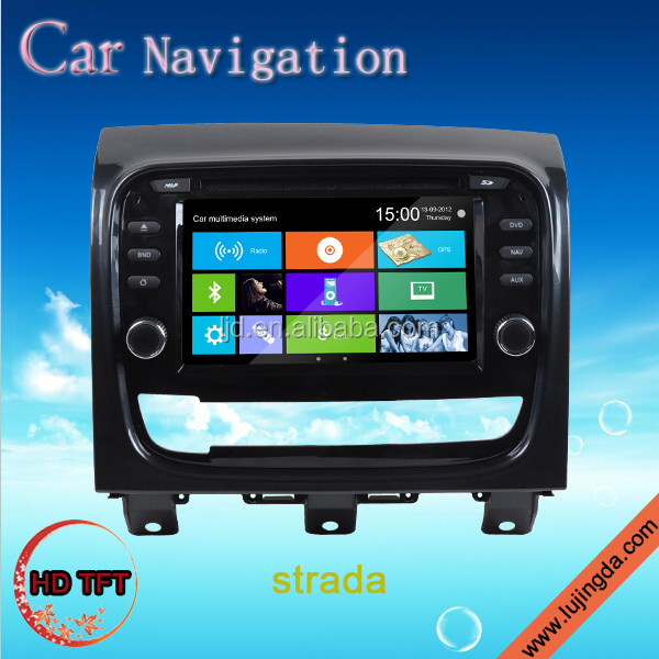 touch screen car audio player for FIAT Strada Idea