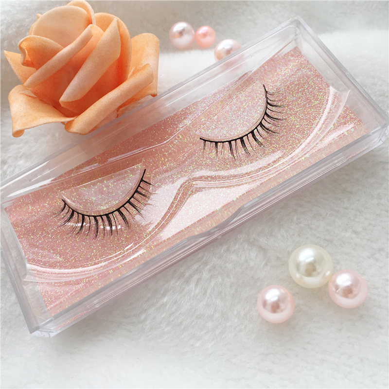 Natural 3D Mink Eyelashes with Private Label Bottom Lashes