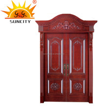 Double leaf swing wooden doors karachi SC-W089