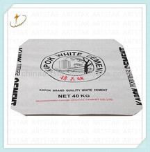 Professional cement paper package bag manufacturer cement sack