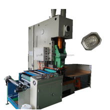 Automatic aluminum foil pan making machine