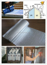 Sun reflective aluminum bubble foil Insulation roof heat insulation materials