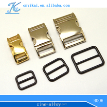 bag accessories metal chain Zinc Alloy Buckles For Strap