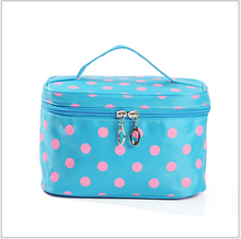 2016 promotional eco beauty square PU cosmetic bag for travel