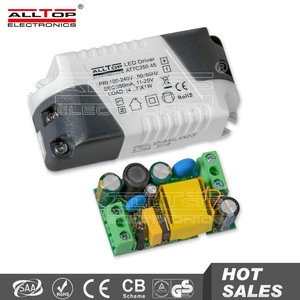 High efficiency constant current 7w led driver power supply