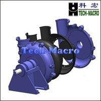 Centrifugal river sand and gravel suction dredge pump series G(GH) for river channel dredge