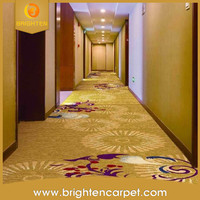 high quality 80% wool 20% nylon hotel hall way carpet