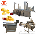 Factory Price Automatic Potato Surgeler Finger Chips Equipment Frozen French Fries Production Line Patato Chips Making Machine
