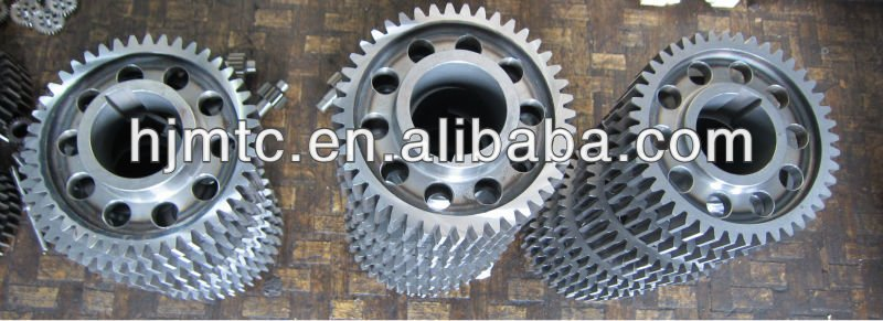 Hi-Quality Hanji gears, worms, splineshaft For Machines