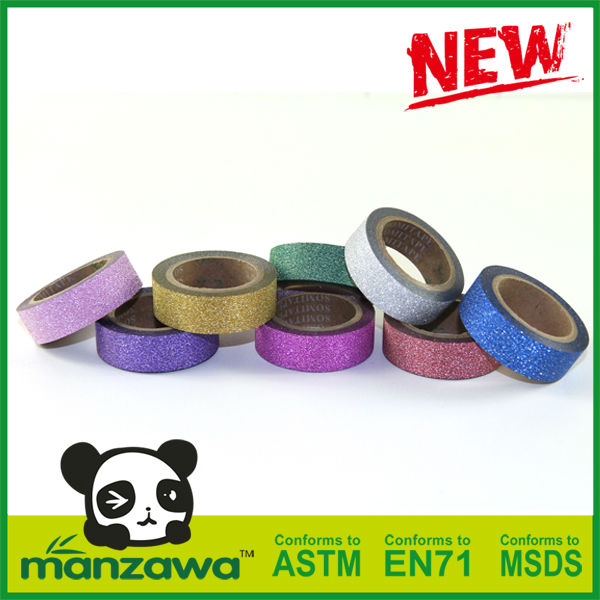 Manzawa powder coating glitter tape
