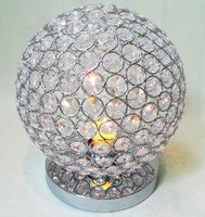 round ball Crystal beads tea light candle holder, Small candle holder for wedding centerpiece supplier
