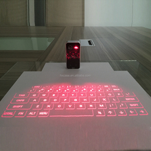 Guangzhou factory Laser projection virtual keyboard wireless bluetooth virtual laser keyboard for phone and tablet