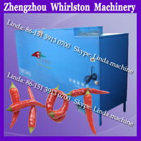 Red pepper tail cutting machine/chilli stem removing machine