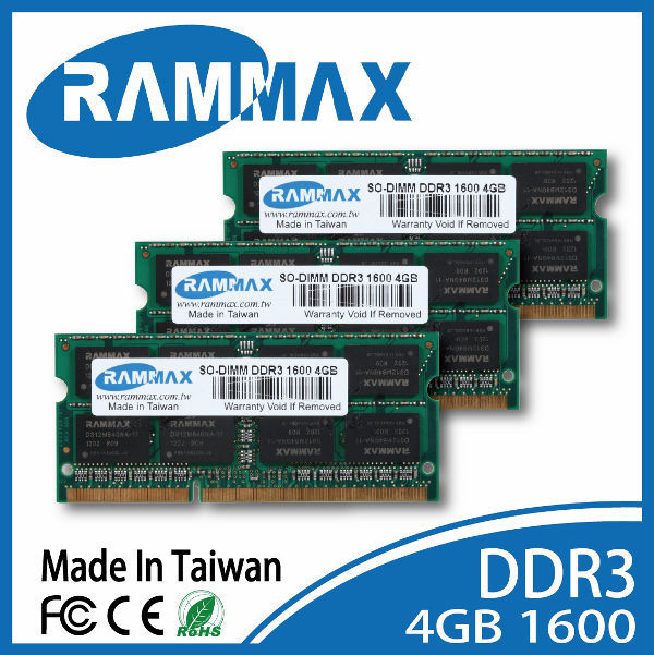 Wholesale DDR3 1333 4GB So-dimm ram for all model laptop types of DELL Laptops