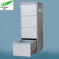 H1320mm high 4 drawer small cupboard,filing cabinet with digital locks