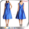 Below Knee Royal Blue Women Dress Short Party Dress Cocktail Dresses