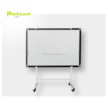 finger touch screen interactive whiteboard with smart board pen