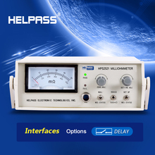 HPS2521 DC Low Ohm Meter for winding resistance