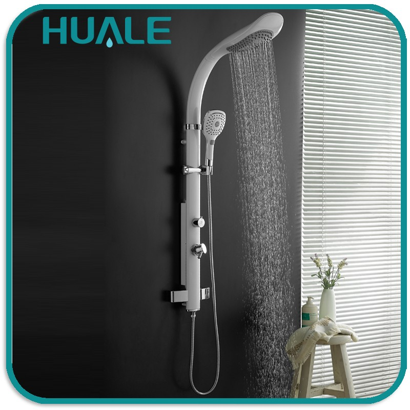 Bathroom equipment Customized factory price style selections Aluminum Alloy decorative Shower Panel