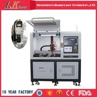 Laser cutting machine for eyeglasses, steel,alloy,aluminum,zine,iron