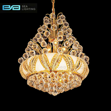 Golden Crystal Cheap large chandelier chandelier modern hotel chandelier 2109027