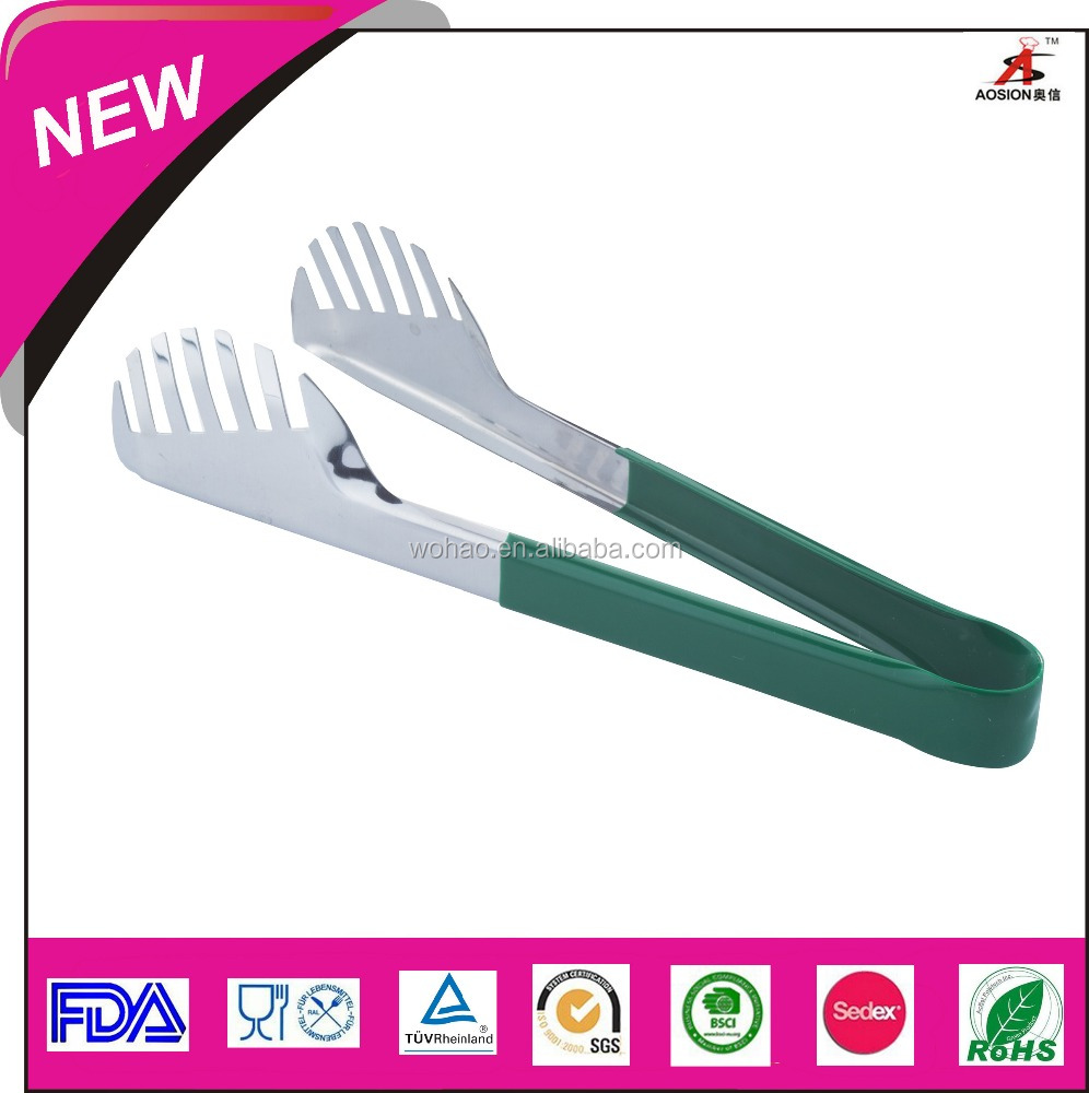 household items stainless steel food tong