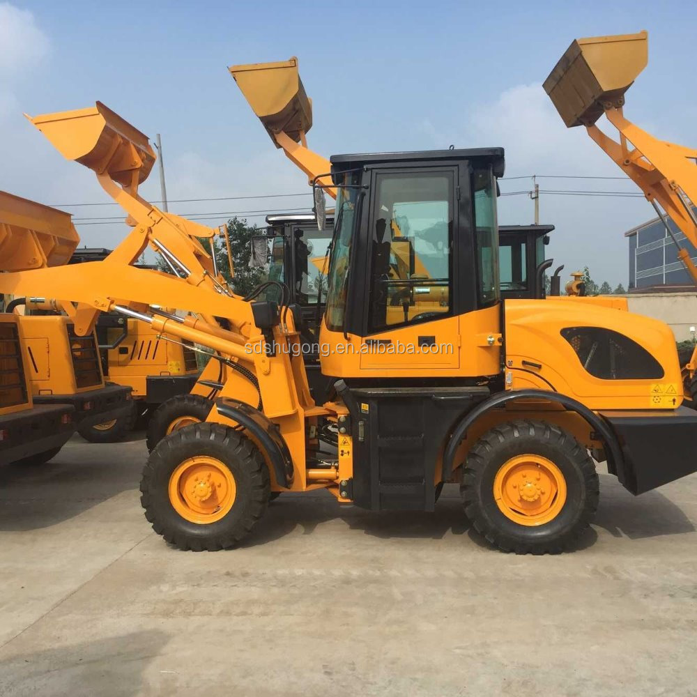 best OEM wheel loader factory/compact wheel loader ZL16 ZL18/ZL916 wheel loader with 4 in 1 bucket