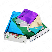 Custom Colored Aluminum Foil Envelopes Metallic Mailer Bag for Gift Packing